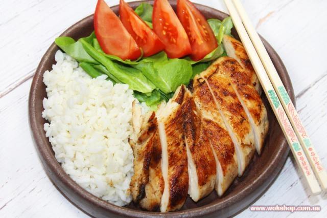 Японская кухня: Жареная курица, маринованная в мисо и майонезе - рецепт на Украинский Вок Шоп